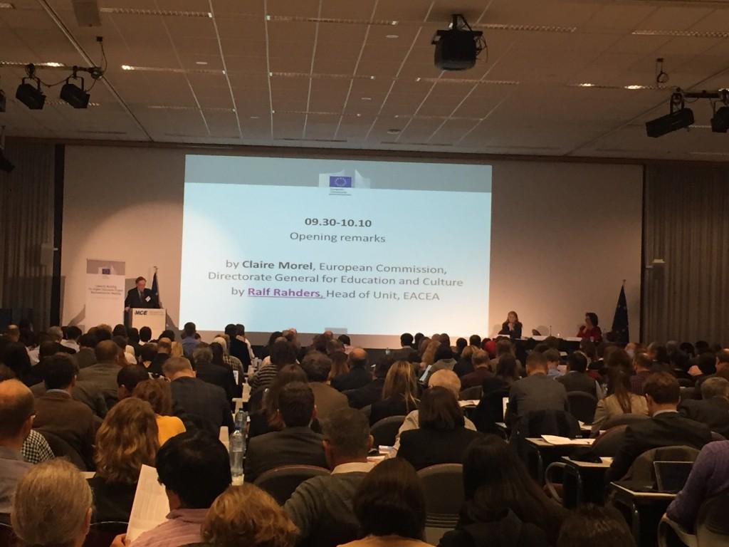Presentación plenaria por Ralf Rahders (EACEA)