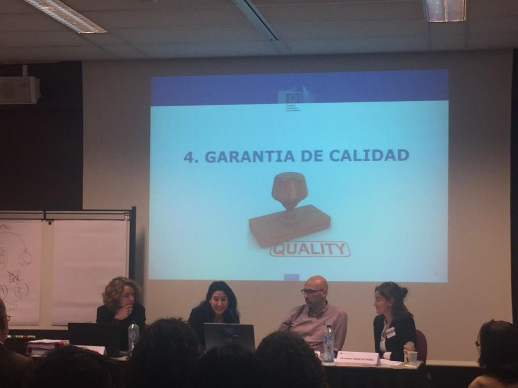 Sesión de administración de proyecto Erasmus+