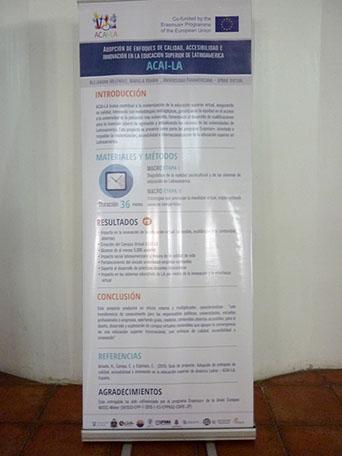 Material promocional ACAI-LA