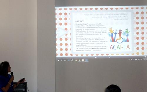 Mariela Román de UPANA-Guatemala presenta iniciativa ACAI-LA