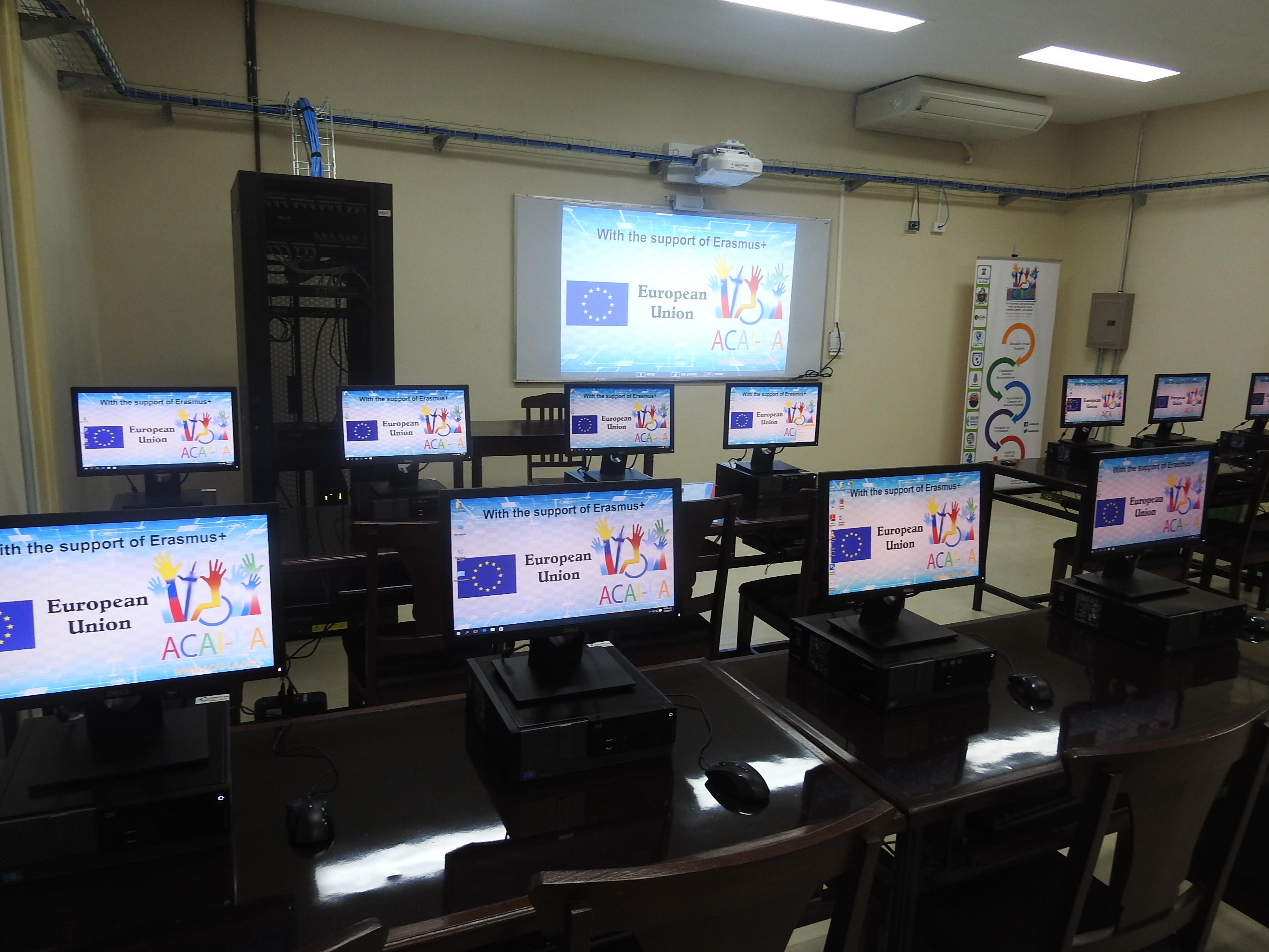 Inauguración de Laboratorio ACAI-LA en León, Nicaragua