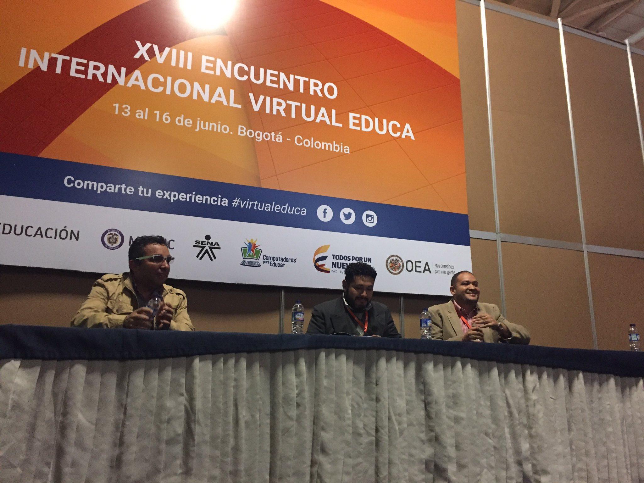 Presentación ACAI-LA en Encuentro Virtual Educa