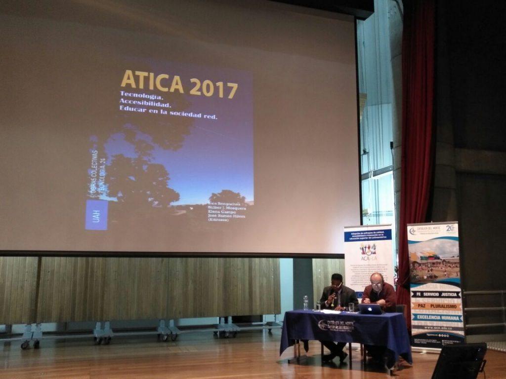 Presentación del libro de Actas del Congreso ATICA 2017