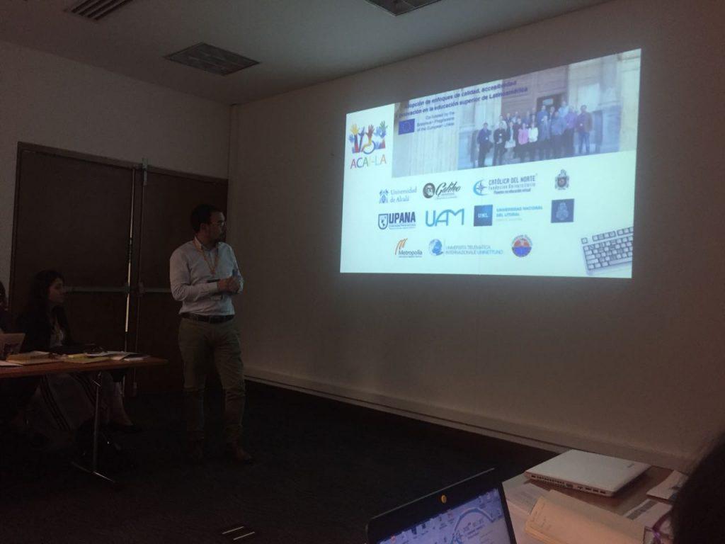Carlos Coronado, Universidad del Magdalena presenta el proyecto ACAI-LA