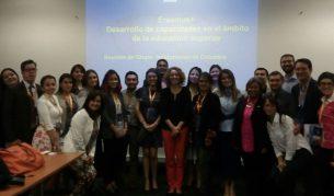 Presentación ACAI-LA en evento de coordinación Erasmus+ en Colombia