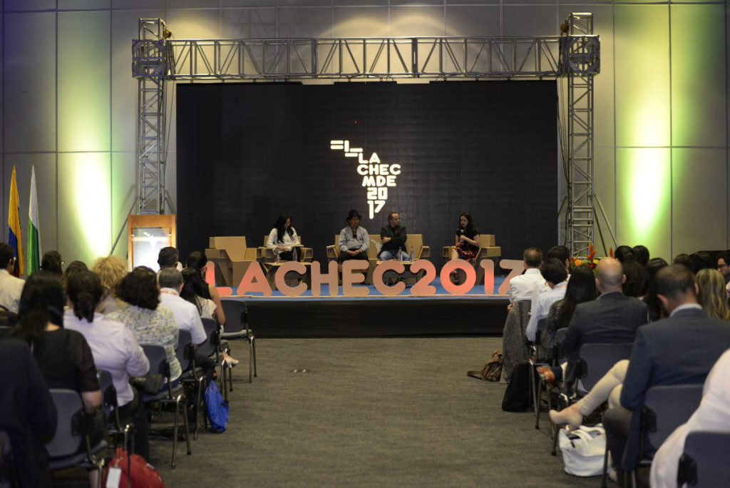 Vista panorámica del evento LACHEC 2017 en Medellín Colombia 2017