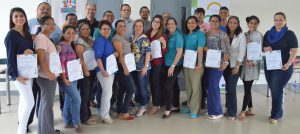 "Participantes en taller ""Diseño de Material Educativo Digital Accesible"" en Nicaragua"