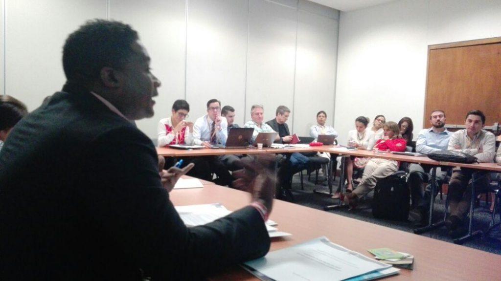 Nilber Mosquera, Decano Facultad de Educación FUCN presenta ACAI-LA