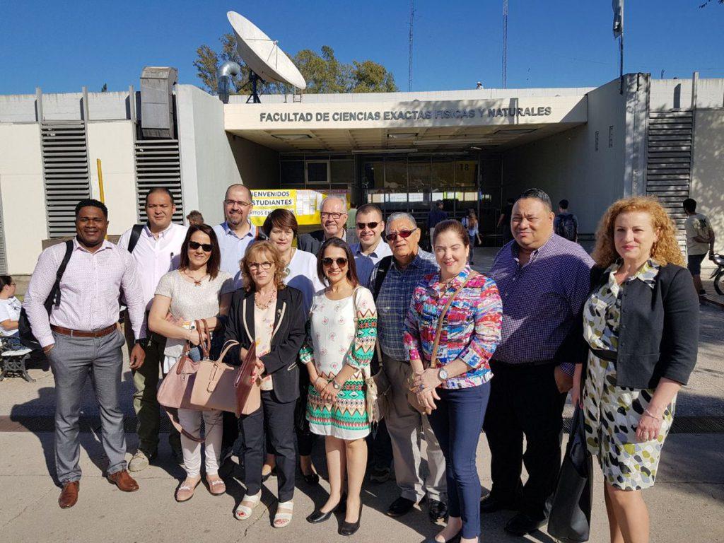 Participantes del proyecto ACAI-LA en la sede de la FCEFyN de la Universidad Nacional de Córdoba